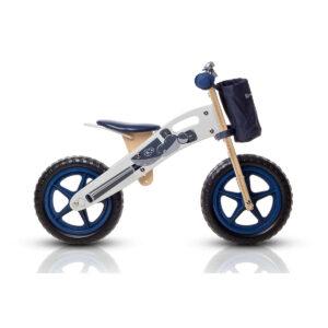 Kinderkraft drveni balans bicikl Runner MOTORCYCLE