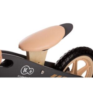 Kinderkraft drveni balans bicikl Runner NATURE meko sedište