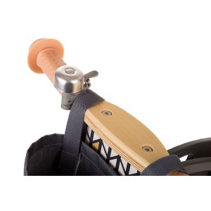 Kinderkraft drveni balans bicikl Runner NATURE ručke i zvonce