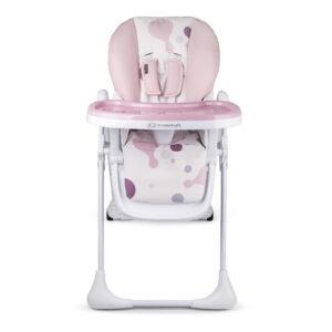 Kinderkraft hranilica za bebe YUMMY pink
