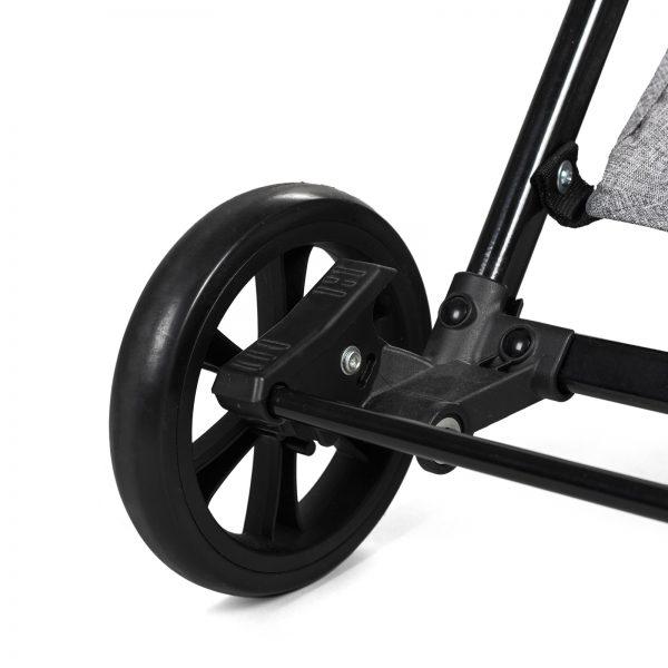 Kinderkraft kišobran kolica LITE pink točak i kočnica