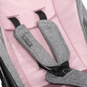 Kinderkraft kišobran kolica LITE roze pojas