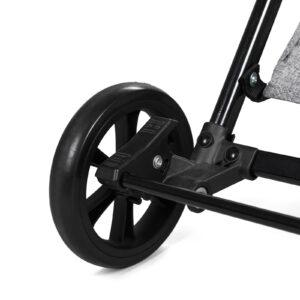Kinderkraft kišobran kolica LITE siva nožna kočnica