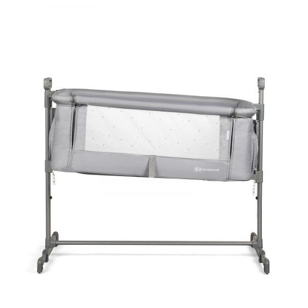 Kinderkraft kolevka krevetac NESTE svetlo siva