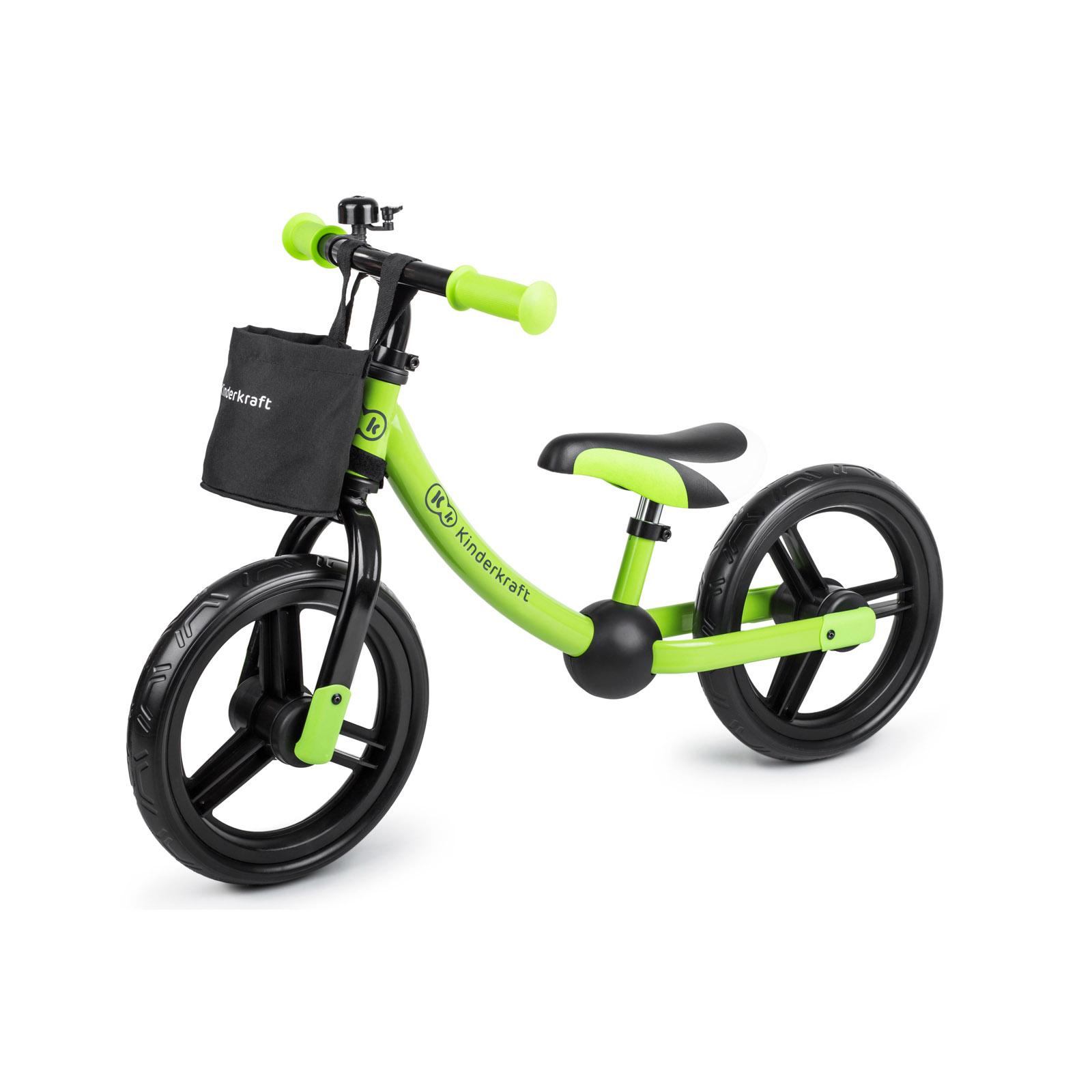Kinderkraft metalni bicikl 2WAY NEXT green