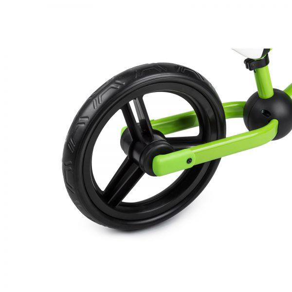 Kinderkraft metalni bicikl 2WAY NEXT zeleni, točak