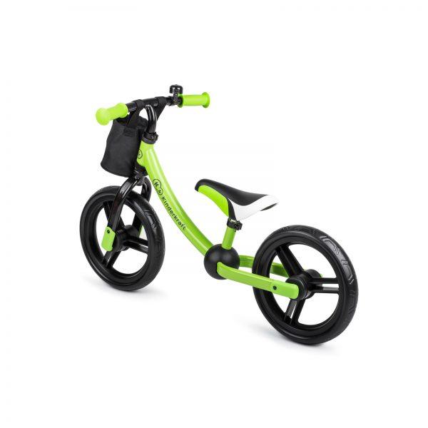 Kinderkraft metalni bicikl 2WAY NEXT zeleni