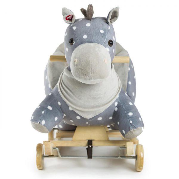 Kinderkraft njihalica klackalica Sivi konj