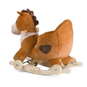 Kinderkraft njihalica klackalica Smeđi konj