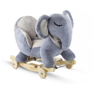 Kinderkraft njihalica klackalica Sivi slon (sivo slonče)