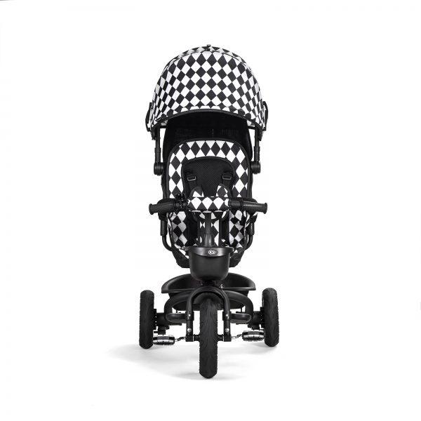 Kinderkraft tricikl AVEO crno beli