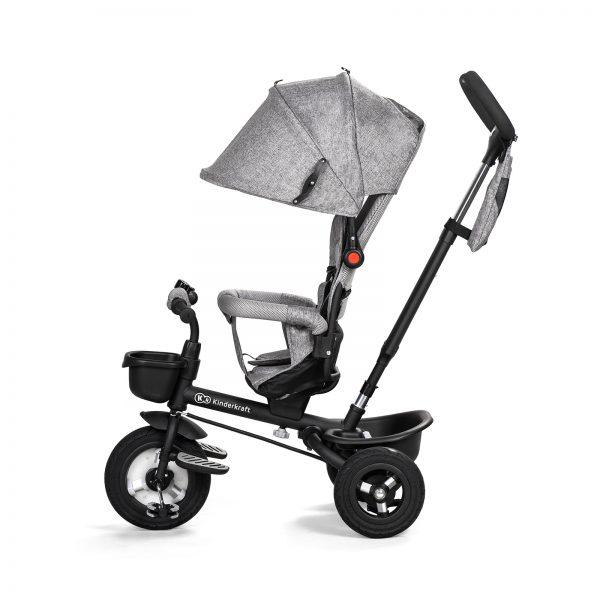 Kinderkraft tricikl AVEO sivi