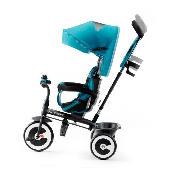 Kinderkraft tricikl guralica ASTON turquoise