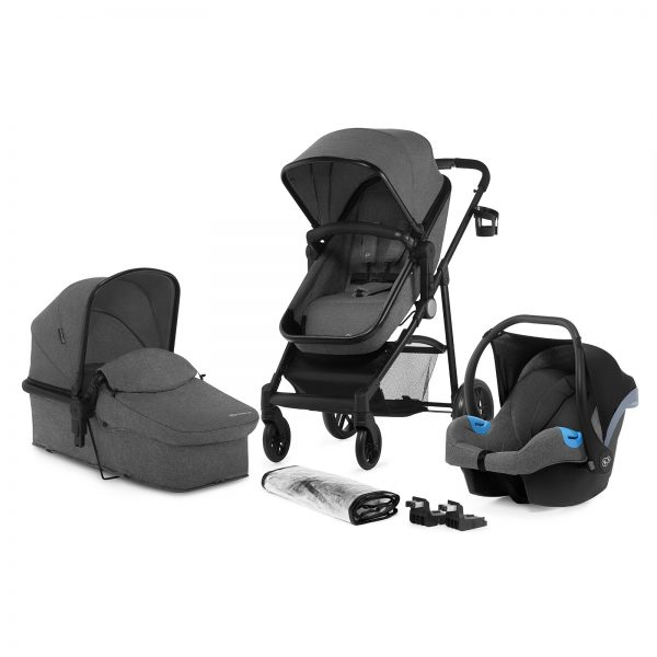 Kinderkraft JULI grey set 3u1 kolica za bebe