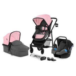 Kinderkraft JULI pink set 3u1 kolica za bebe
