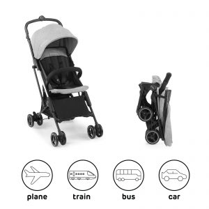 Kišobran kolica Kinderkraft MINI DOT grey