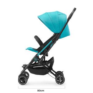 Kišobran kolica Kinderkraft MINI DOT turquoise, dimenzije, dužina