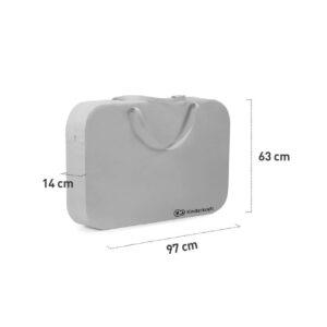 Prenosivi krevetac Kinderkraft SOFI 4u1, dimenzije torbe za nošenje