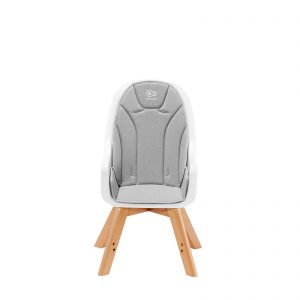 Kinderkraft TIXI grey hranilica za bebe, stolica za hranjenje za veću decu