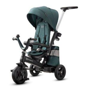 Tricikl Kinderkraft EASYTWIST midnight green