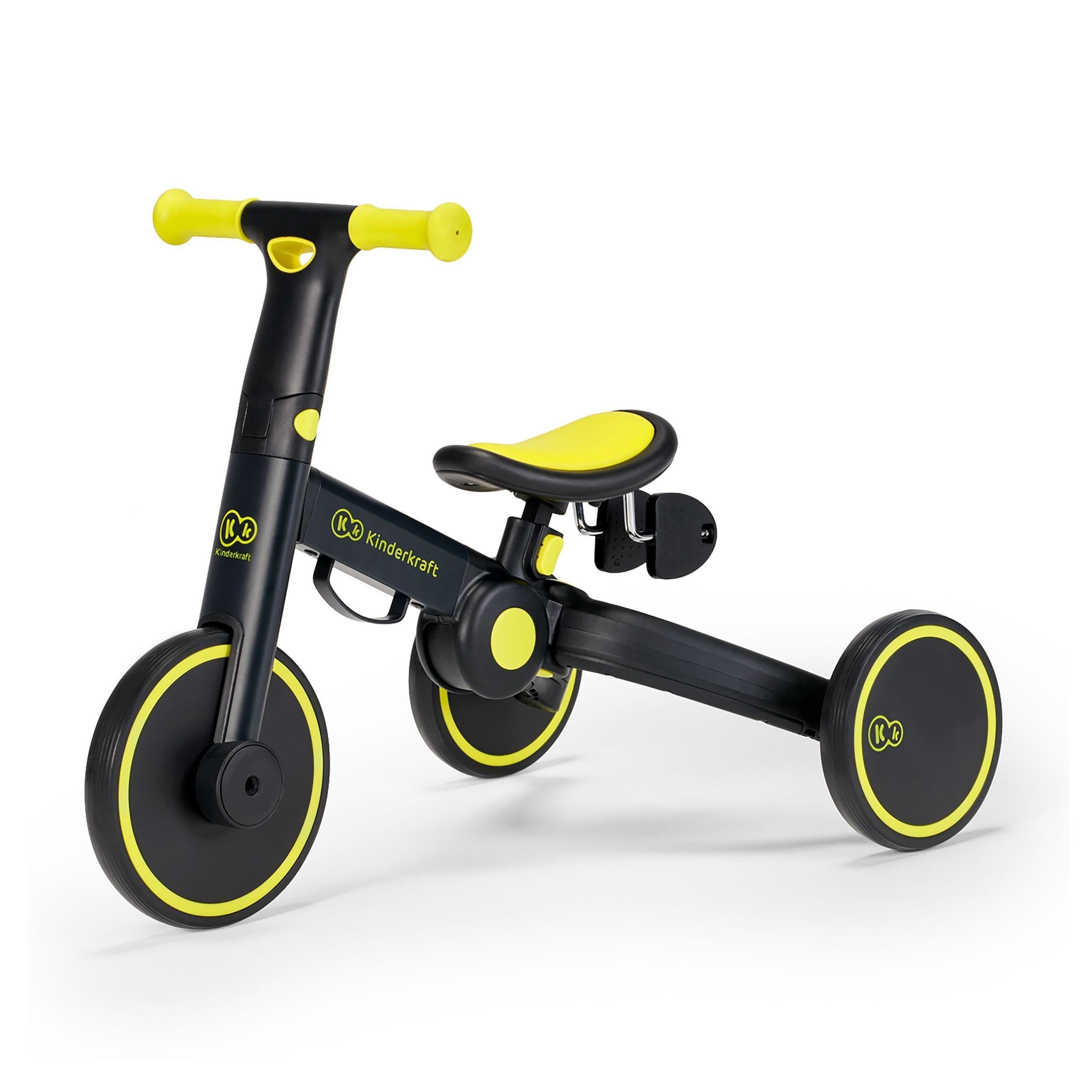 Tricikl bicikl Kinderkraftv4TRIKE black volt