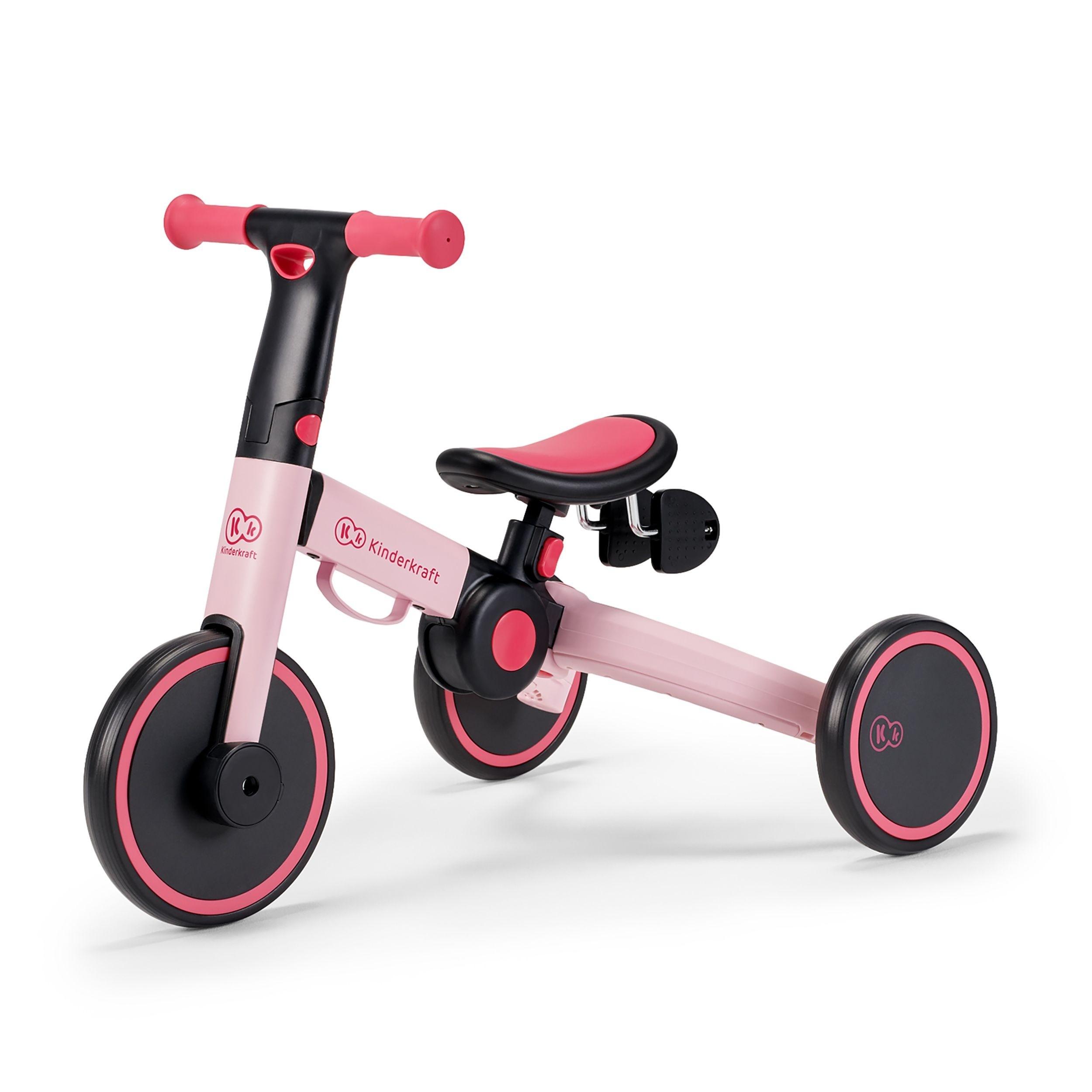 Tricikl bicikl Kinderkraftv4TRIKE candy pink