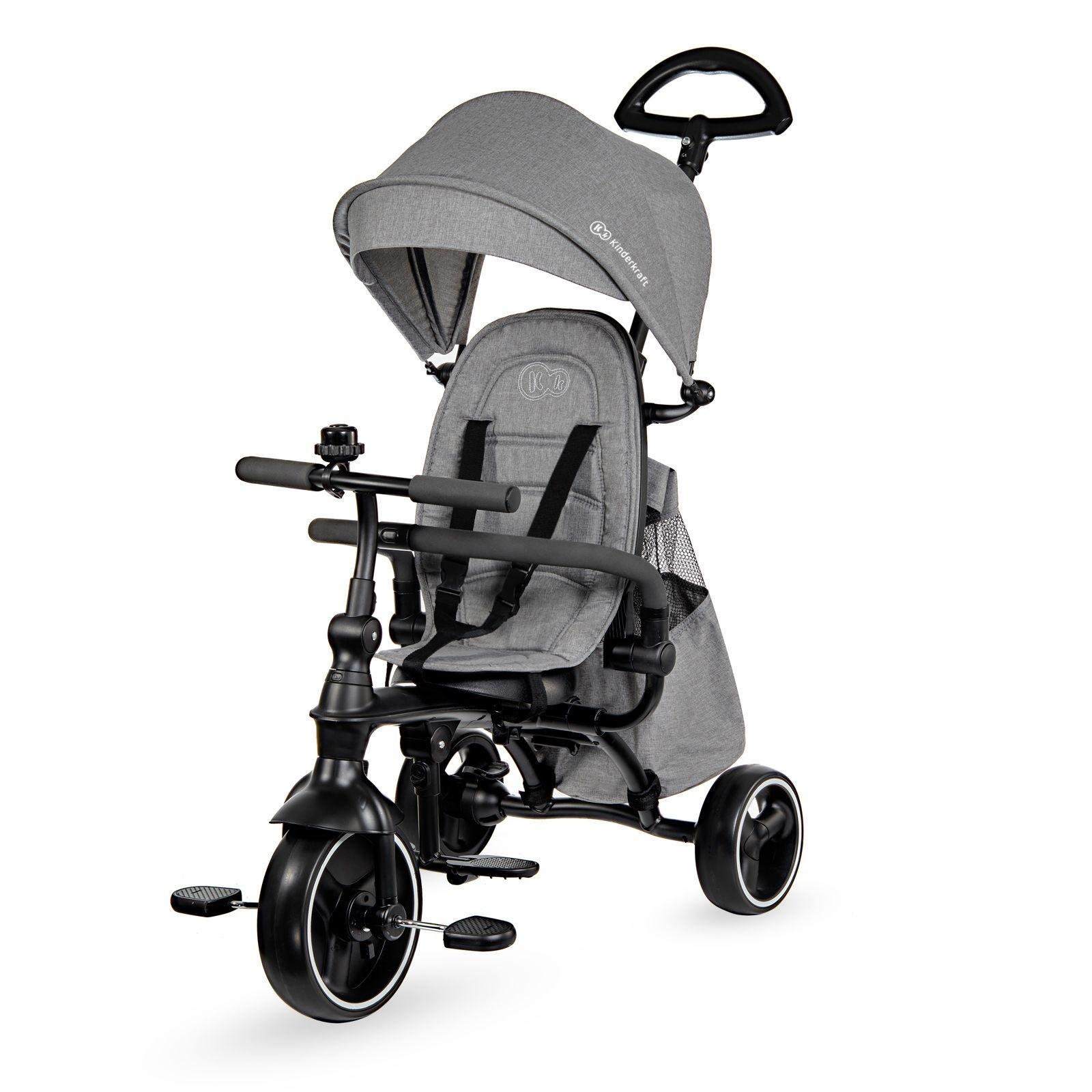 Tricikl guralica Kinderkraft JAZZ grey