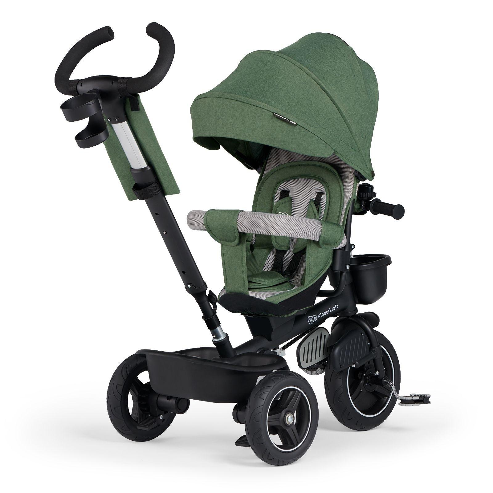 Tricikl guralica Kinderkraft SPINSTEP green