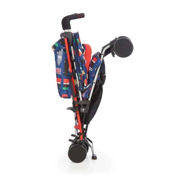 Cosatto kišobran kolica za bebe SUPA Britpop, sklopljena kolica