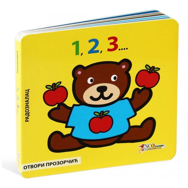 Otvori prozorčić - 1,2,3..., slikovnica - izdavač Enco Book